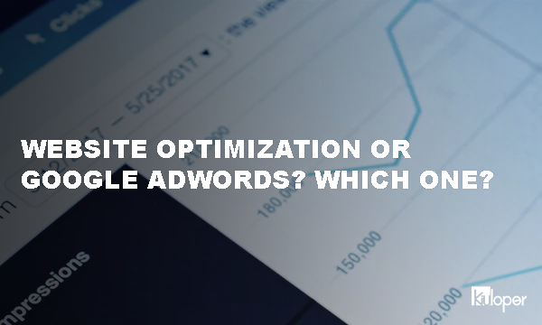 Website optimization or Google Adwords?