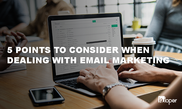 5 Important Points in Email Marketing