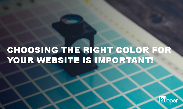 Choosing the right color for your website