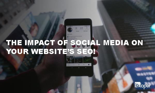 The impact of social media on SEO!