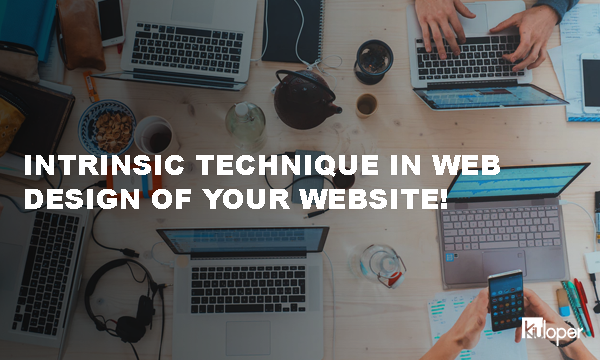 Intrinsic technique in web design
