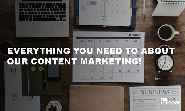 Everything about our content marketing