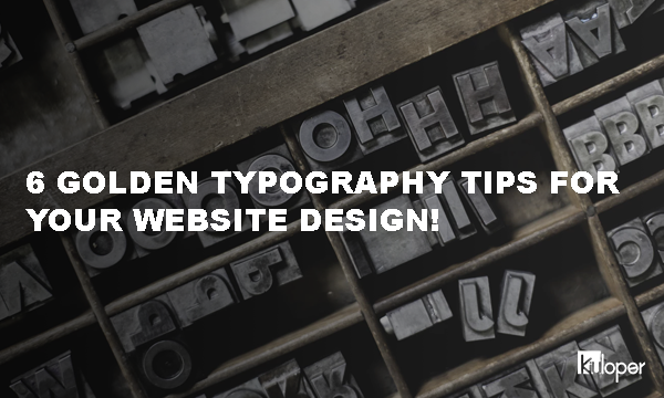 Typography Tips for Web Design