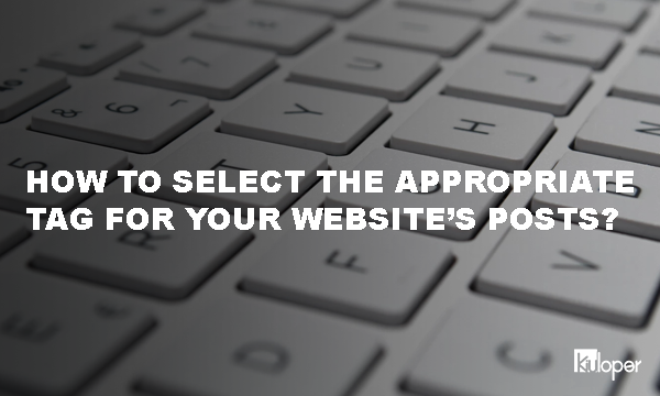 Select the appropriate tag for SEO