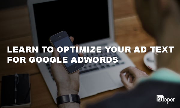 Text optimization for Google Adwords